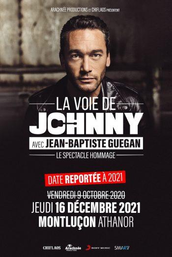 Jean Baptiste Guegan La Voie de Johnny Montluçon Centre Athanor concert