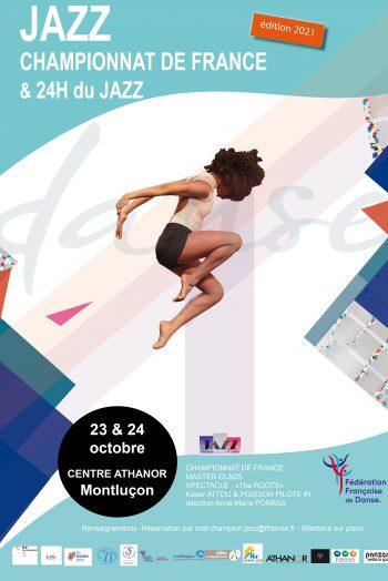 affiche championnat de france de jazz montluçon athanor 23 24 octobre